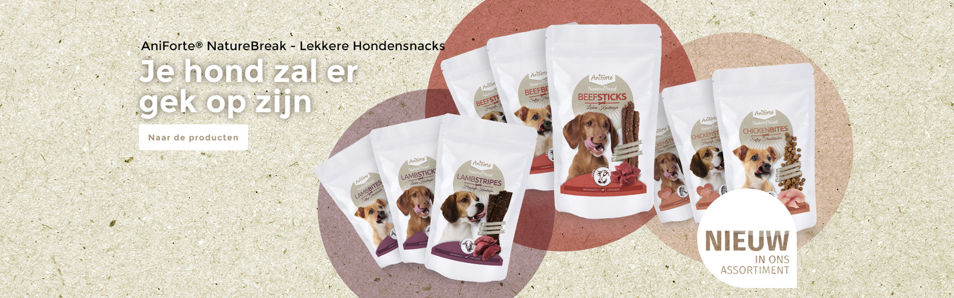 AniForte® NatureBreak - Lekkere hondesnacks