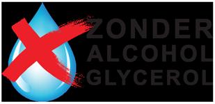 100% zonder alcohol en / of glycerol