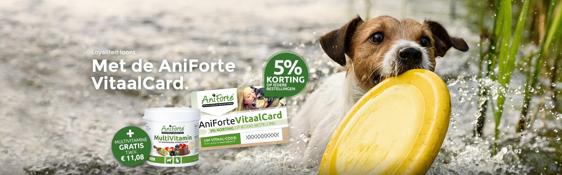 AniForte® VitaalCard - 5% Korting voor ALTIJD